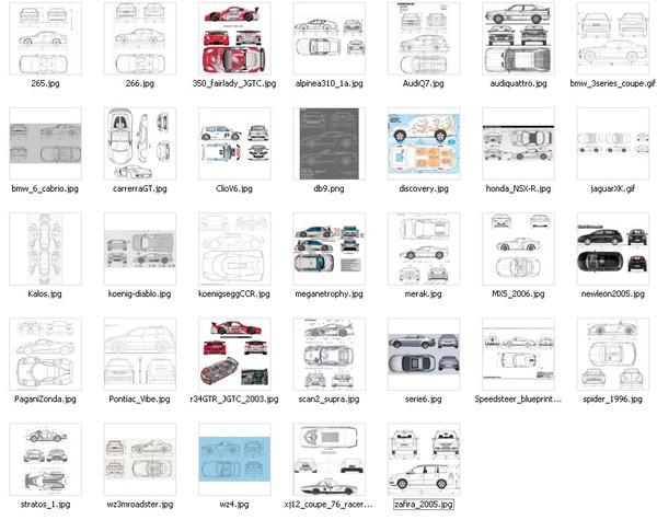 3dsmax maya三维建模软件汽车建模精品图纸 Autodesk 3dsmax maya 高清图片